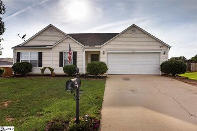 Fountain Inn Single Family Home Contingency Contract: 106 Barred Owl