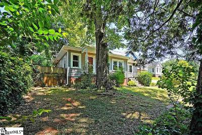 Greenville Single Family Home For Sale: 124 Ashley