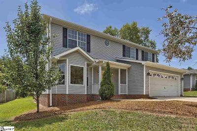 Taylors Single Family Home For Sale: 15 Michell