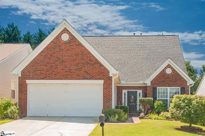 Greer Single Family Home For Sale: 109 Durand
