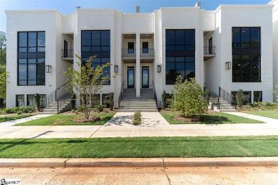 Greenville Condo/Townhouse For Sale: 603 Arlington #Unit 3