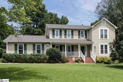 Greenville Single Family Home Contingency Contract: 104 Middle