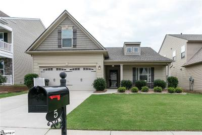 Greer Single Family Home Contingency Contract: 5 Parkwalk