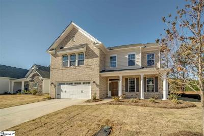 Easley Single Family Home For Sale: 220 Crestgate