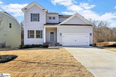 Woodruff Single Family Home For Sale: 261 Noble Creek #Site 67