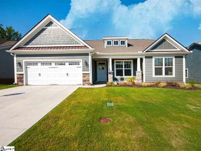 Simpsonville Single Family Home For Sale: 421 Longfellow