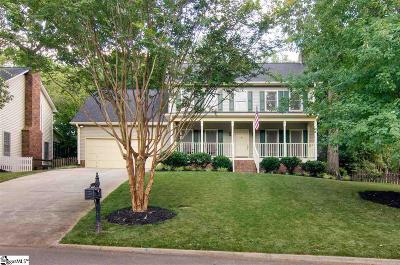 Greer Single Family Home Contingency Contract: 8 River Way