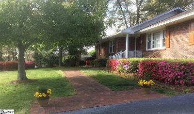 Greenville Single Family Home For Auction: 802 Richbourg