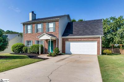 Simpsonville Single Family Home Contingency Contract: 6 Pinellas
