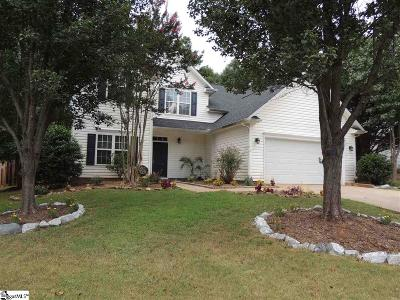 Duncan Single Family Home For Sale: 534 Forest Shoals