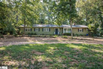 Greenville Single Family Home For Sale: 18 Dogwood