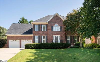 Greenville Single Family Home For Sale: 101 Plum Creek