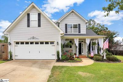 Greer Single Family Home For Sale: 51 Rustcraft