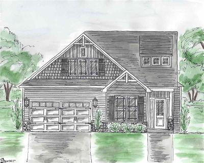 Greenville Single Family Home Contingency Contract: 212 Fernbrook