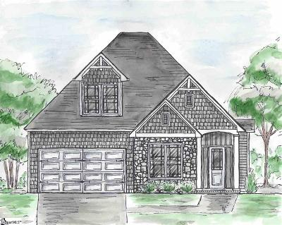 Greenville Single Family Home Contingency Contract: 202 Fernbrook