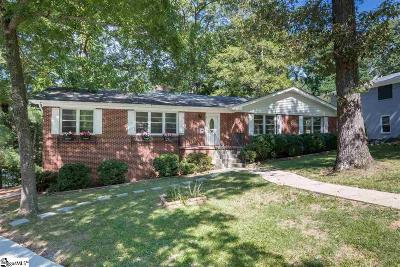 Greenville Single Family Home For Sale: 1 Lockwood