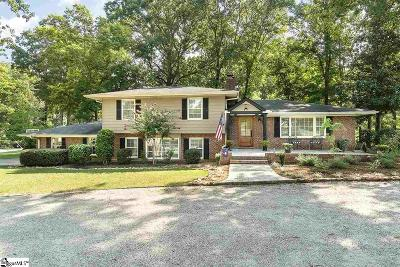 Greenville Single Family Home Contingency Contract: 201 Arundel