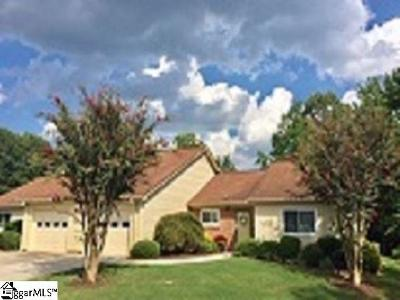 Greenville Single Family Home Contingency Contract: 215 S Woodgreen