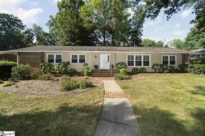 Greenville Single Family Home For Sale: 107 Hiawatha
