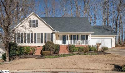 Simpsonville Single Family Home Contingency Contract: 210 Torrey