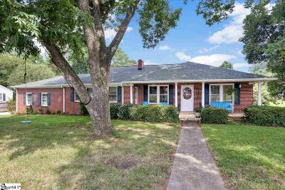 Greer Single Family Home Contingency Contract: 4205 Brushy Creek