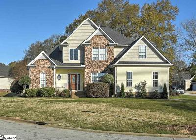 Simpsonville Single Family Home For Sale: 1 Manorwood