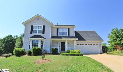 Greer Single Family Home For Sale: 812 Canton