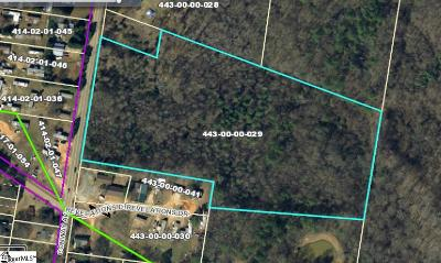 Laurens Residential Lots & Land For Sale: Conway
