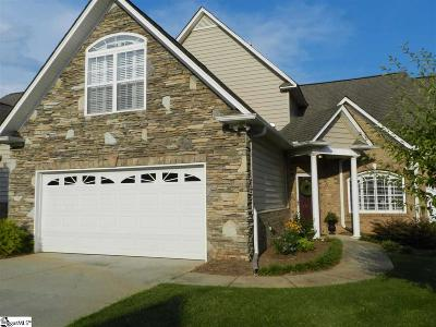 Greenville Condo/Townhouse For Sale: 503 Falling Rock