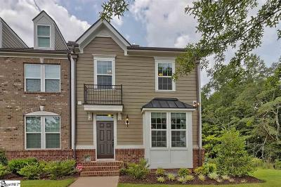 Greenville Condo/Townhouse For Sale: 212 Rocky Slope