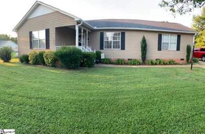Greer Single Family Home For Sale: 127 Becky Gibson