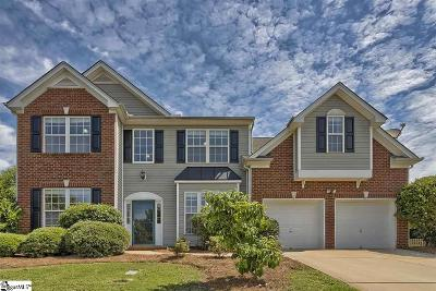 Simpsonville Single Family Home For Sale: 5 Smokehouse