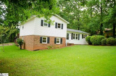 Travelers Rest Single Family Home Contingency Contract: 241 Lorraine