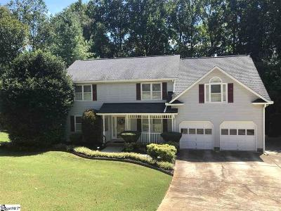 Easley Single Family Home For Sale: 103 Bent Tree