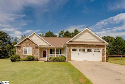 Greer Single Family Home For Sale: 5 Judges