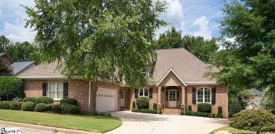 Simpsonville Single Family Home For Sale: 2 Mendenhall