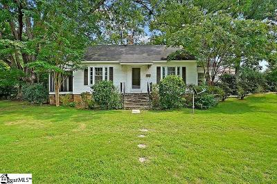 Laurens Single Family Home For Sale: 112 Maplebrook