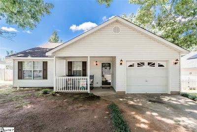Fountain Inn Single Family Home Contingency Contract: 529 Country Gardens