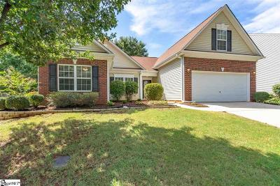 Greer Single Family Home Contingency Contract: 334 Highgate