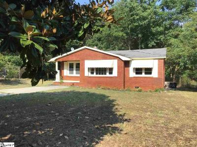 Woodruff Single Family Home For Sale: 111 Pink Robinson