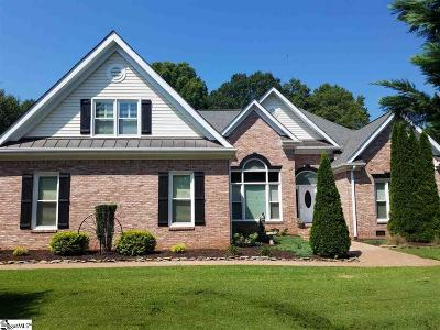 Simpsonville Single Family Home For Sale: 2 Shadow
