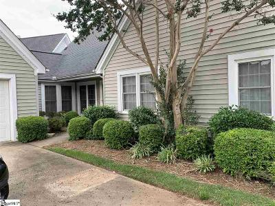 Simpsonville Single Family Home For Sale: 124 Forest Lake