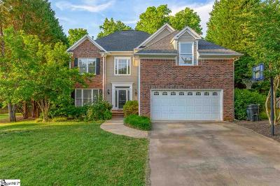 Simpsonville Single Family Home For Sale: 108 Thorn Hill