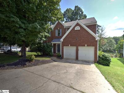 Simpsonville Single Family Home For Sale: 107 Waterton