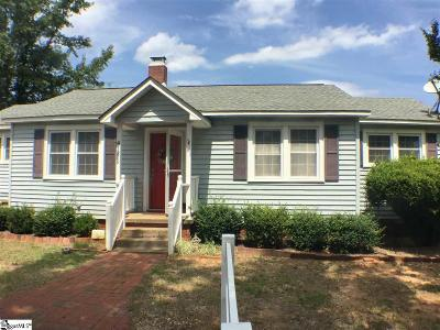 Laurens Single Family Home Contingency Contract: 219 Wasson Gin