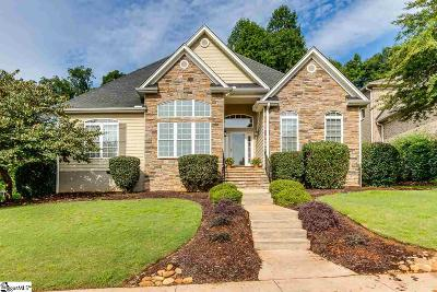 Simpsonville Single Family Home For Sale: 120 Stonebridge