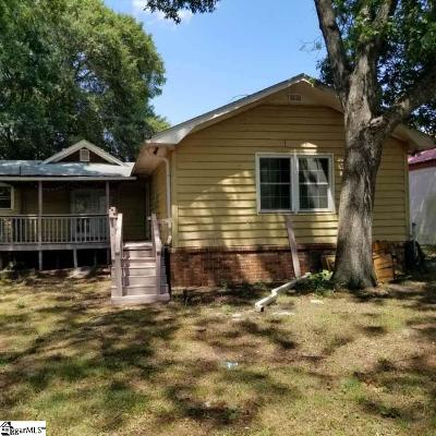 Pelzer Single Family Home For Sale: 21 Main