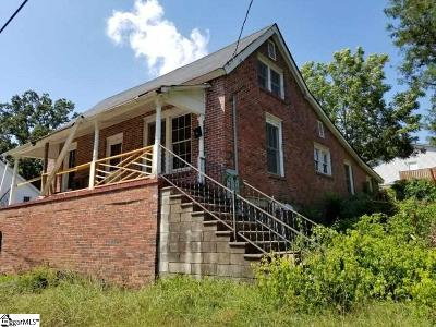 Pelzer Single Family Home For Sale: 11 Blake
