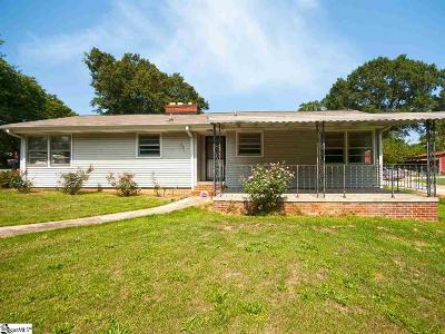 Greer Single Family Home Contingency Contract: 301 Wood