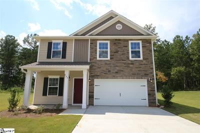 Inman Single Family Home For Sale: 525 Bella Woods #Lot 16